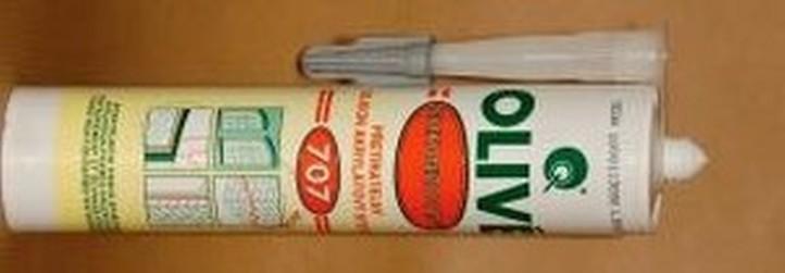 tmel akryl Olive 707 bílý silikonový 310ml
