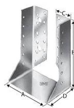 třmen 80x80x120 vnitřní 11-25 BV/T-120 456601