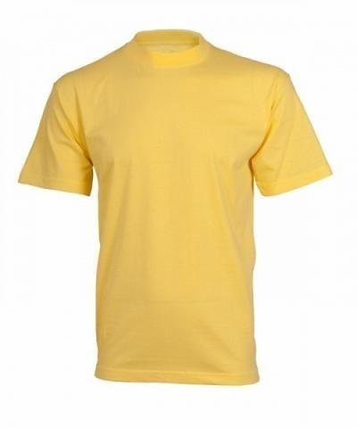 Tričko Leaf DANIEL s krátkým rukávem,žluté,vel.M 2710-ZL0m
