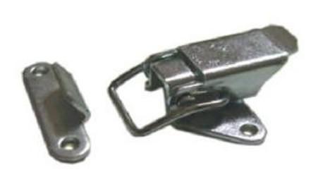 bednový uzávěr pákový UP1 A-44mm, B-33mm, C-12mm, ZINEK