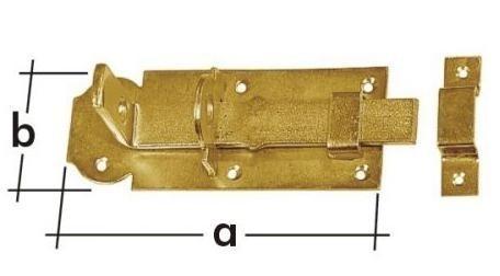 WZP 100 Zástrč zamykací rovná 100x45x5.0mm