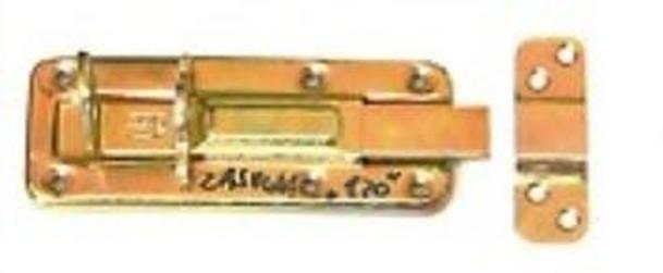 WZTW 100 Zástrč lisovaná zamykací jednoduchá 100x40x1.0mm