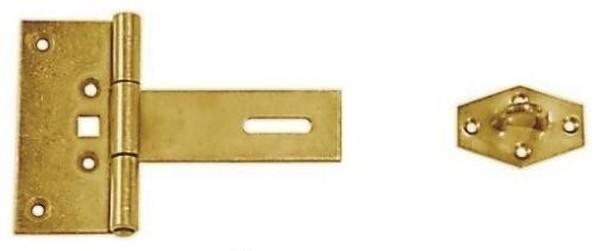 ZZBR 150 Závěs zamykací brankový 150x100x2.0mm