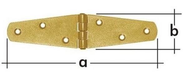 ZTS 150 Závěs trojúhelníkový splétaný 150x35x2.0mm